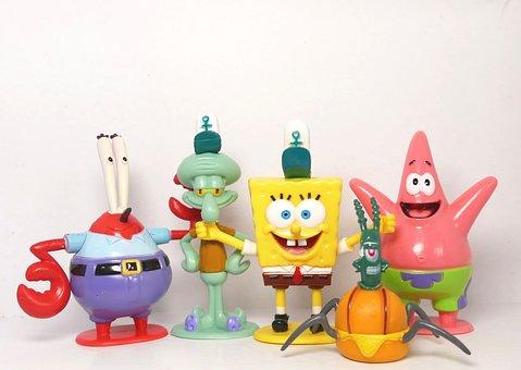 Cartoon Characters, Spongbob, Spongebob Squarepants
