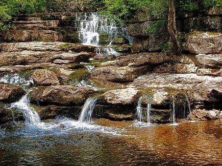 Waterfall, Swaledale, Yorkshire