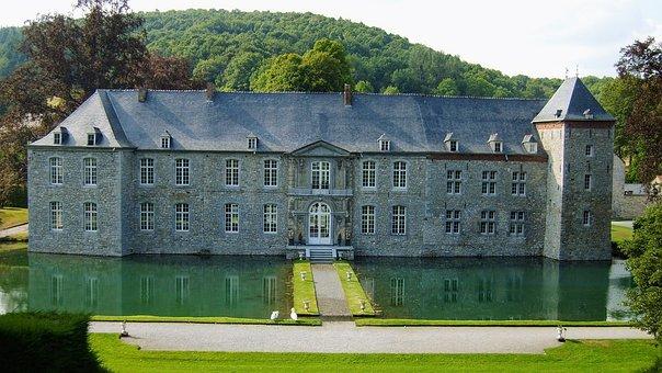 Castle, Ardennes, Wallonia, Houses, Belgium