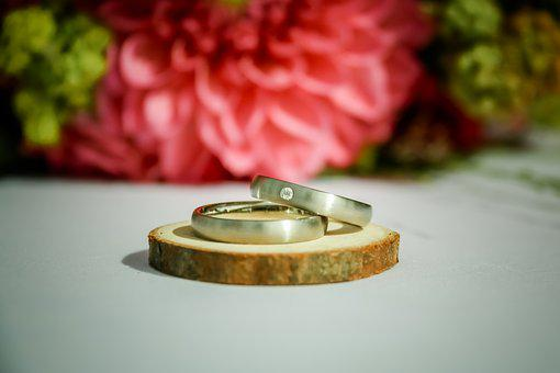 Wedding, Ring, Love, Wedding Ring, Gold, Jewelry