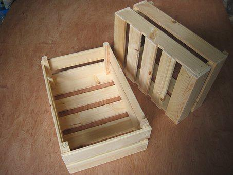 Box, Crate, Wood, Pine, Wooden, Gift, Decor, Decoration
