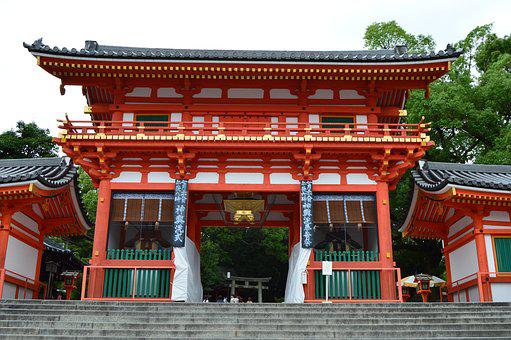 Japan, Temple, Red, East, Asia, Eastern, Zen, Sacred