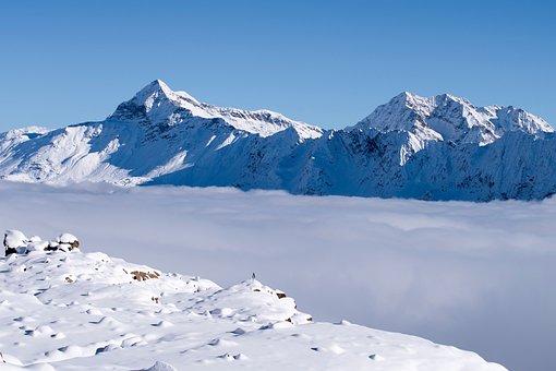 Lace Step, Snow, Alps