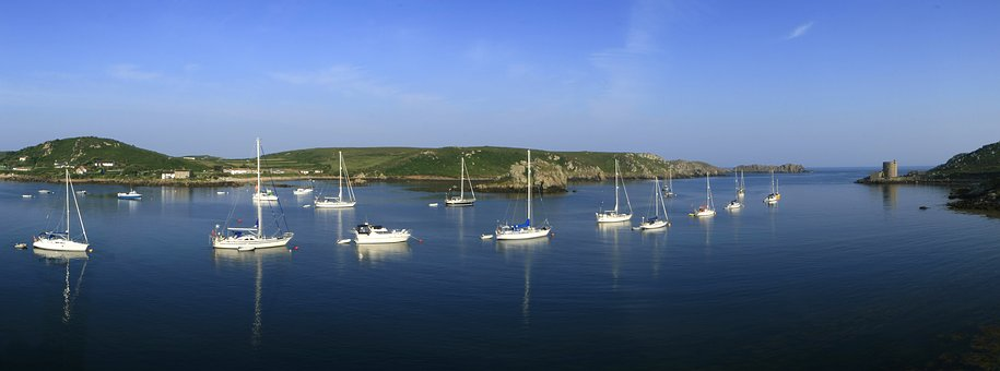 Scillies, Tresco, Bryher, New Grimsbey, Cornwall, Yacht