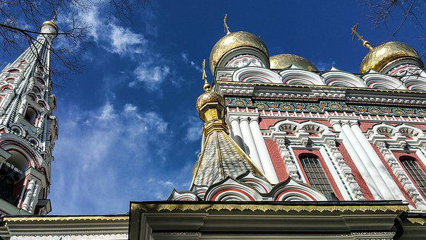 Church, Christian, Gold, Religion, Religious