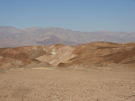 Death Valley, Mountain, Rock