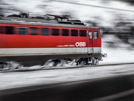 Locomotive, Railcar, Train, Speed, Drive, Driver