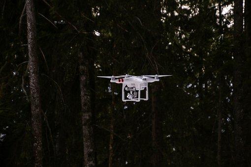 Drone, Drone Phantom 3, Drone Phantom, Aerial View, Fly