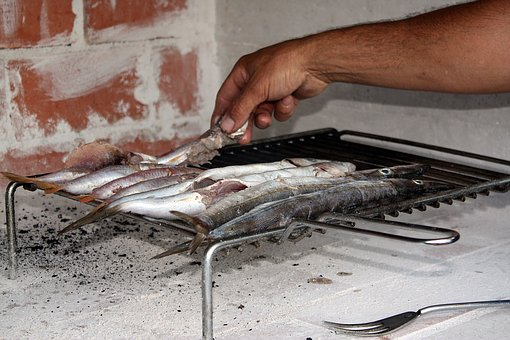 Fish, Grill, Grilling, Dinner, Eating, Dish, Food