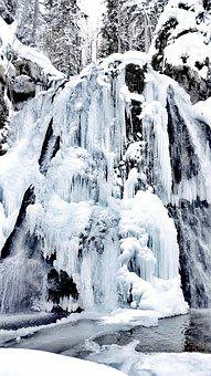 Ice, Icicle, Water, Winter, Snow, Cold, Frozen, Icefall