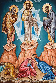 Transfiguration Of Christ, Iconography, Painting