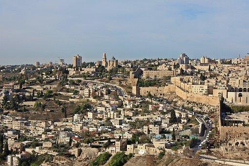 Jerusalem, Panorama Of Jerusalem, View, Israel