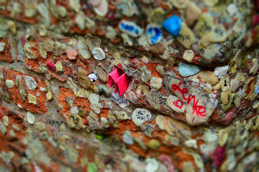 Chewing Gum, Love, Love Letter, Valentine's Day