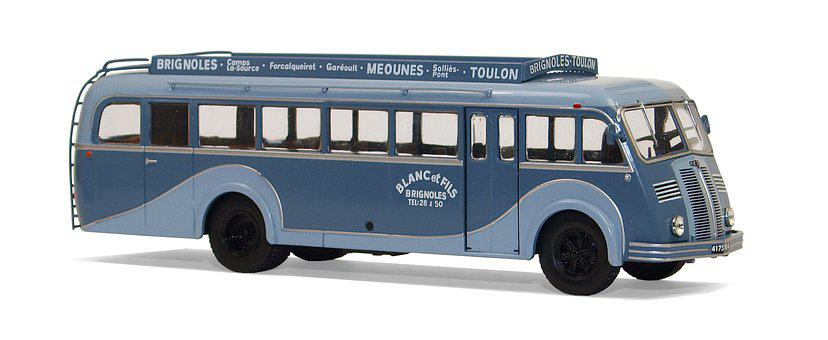 Berliet, Typ Pck, Isolated, 1950, Scale 1 43, Models