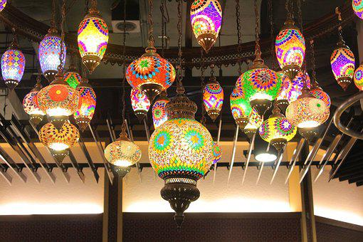 Lamp, Chiang Mai, North Of Thailand, Tourist, Asian