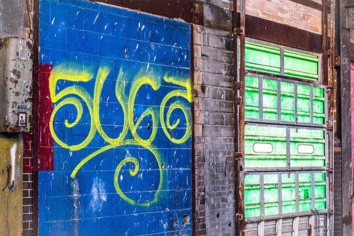Spray, Paint, Wall, Graffiti, Grunge, Industry