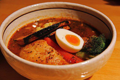 Ramen, Soup, Mouth-watering, Yummy, Delicious, Lunch