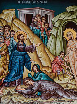 The Raising Of Lazarus, Iconography, Painting, Church