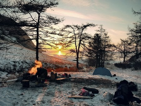 Wintry, Camping, Adventure, Outdoor, Camp, Leisure