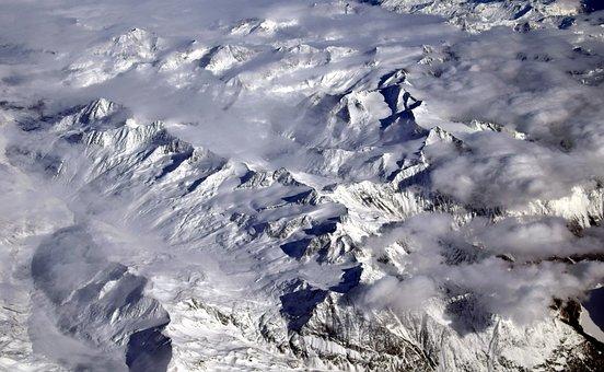 Alpine, Mountains, Snow, Landscape, Nature, Winter