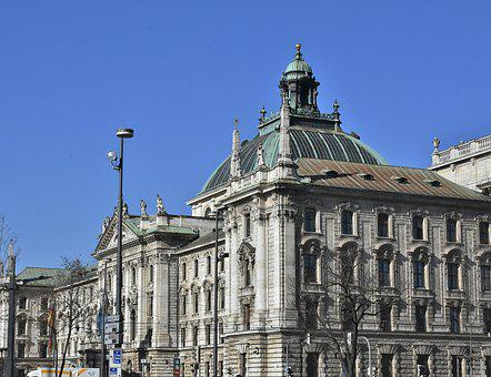 Palace Of Justice, Munich, Bavaria, Architecture