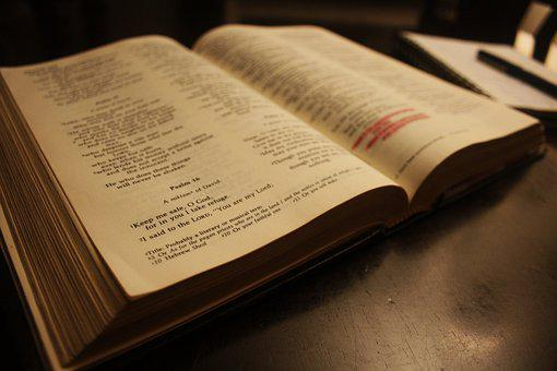 Book, Bible, Text, Literature, Christianity, Old, Study