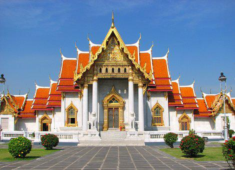 Thailand Temple, Marble Temple, Wats, Buddhist