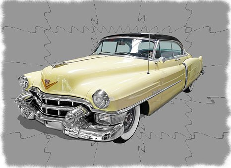 Cadillac-convertible-coupe, Usa, Pkw, Classic, American