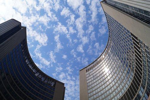 Toronto, City, Gta, Canada, Downtown, Building