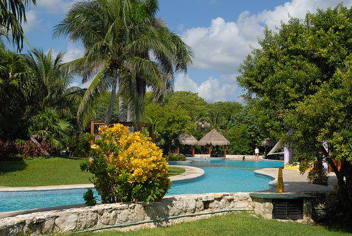 Mexico, Holiday, Cancun, Pool, Pool Area, Caribbean