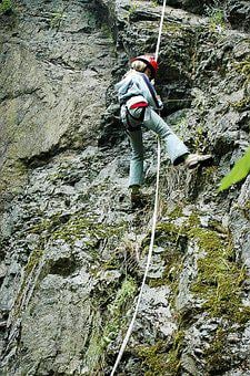 Climb, Abseil, Climbing, Rock, Climbing Wall, Wall