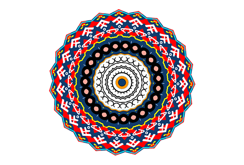 Mandala, Design, Cool, Pretty, Coloring Page