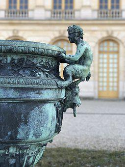 Palace Of Versailles, Decoration, Flower Bed