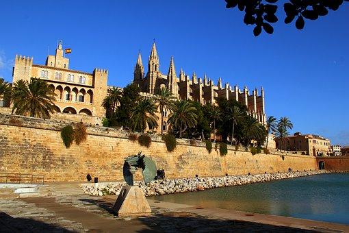 Mallorca, Cathedral, Island Of Majorca, Spain