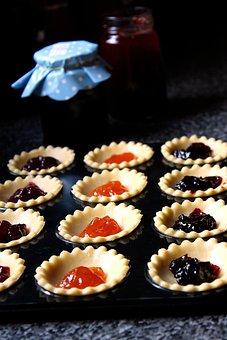 Baking, Jam, Tarts, Food, Bakery, Dessert, Sweet