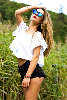 Sensolatino, Sunglasses, Girl, Model, Beautiful Girl