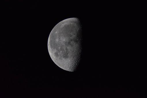 Natural, Moon, Half Moon