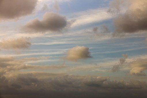 Natural, Cloud, Sky, Nature, Blue, Light, Weather