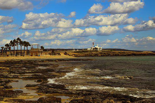 Beach, Empty, Sea, Landscape, Winter, Mediterranean