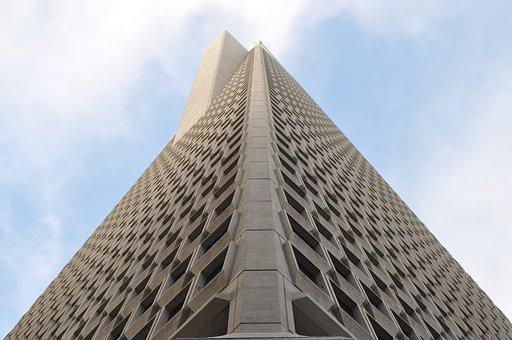 Pyramid, Skyscraper, Building, Architecture