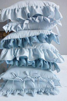 Pillow, Pillows, Frill, Straps, Relaxation, Bedroom