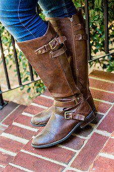 Boots, Brown, Girl, Teen, Woman, Riding Boots, Riding