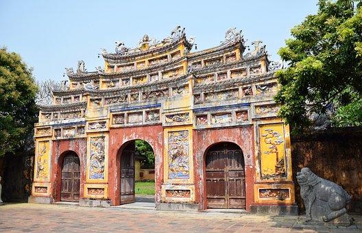 Hue Architecture, Hue City Vietnam, Vietnam, Tourism