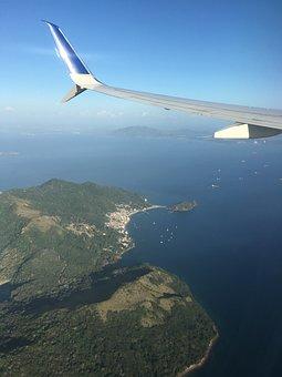 Plane, Earth, Flight, Vision, Cancun, Island, Costa