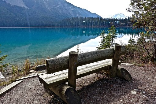 Seat, Wooden, View, Water, Lake, Peaceful, Tranquil