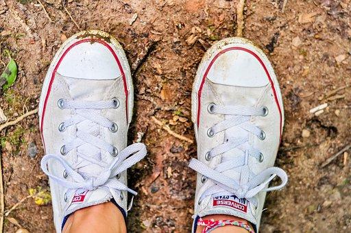 Converse, Shoes, Converse Shoes, Red Shoes, White Shoes