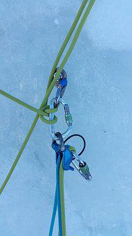 Ice Climbing, Stand, Winter Sports, Steep Ice