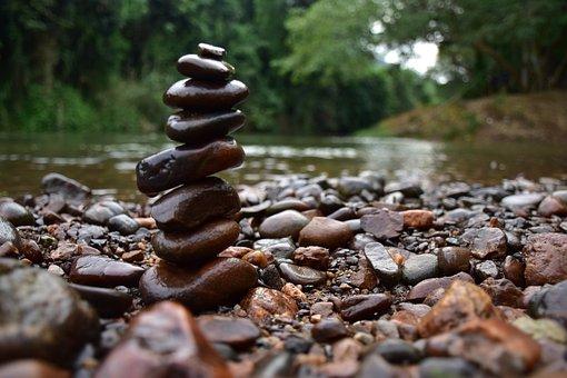 Stone, Anvil, Rock, Warter