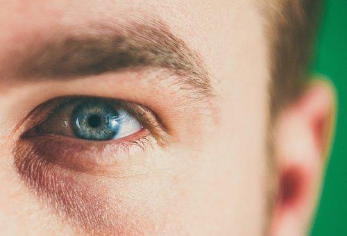 Eye, In Relation To, Blue Eyes, Blond, Iris