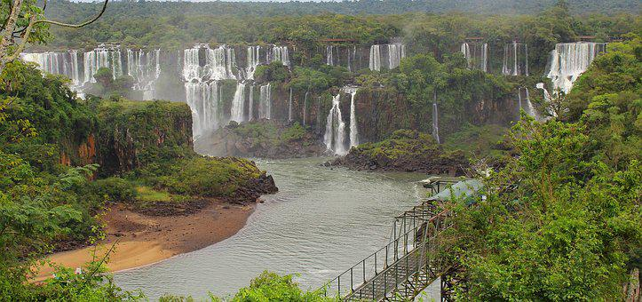 Queen Of Waterfalls, Triple Frontier, Cataracts, Brazil